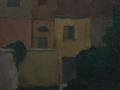Dietro la villa padronale a Canonica - 1953 - 50x60 - Ezio Barni