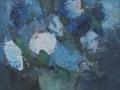 Fiori azzurri - 1964 - 25x30 - Ezio Barni