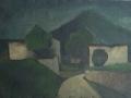 Paesaggio ad Albino - 1966 - 50x70 - Ezio Barni
