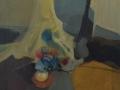 Il tulle e gli oggetti - 1996 - 60x60 - Ezio Barni