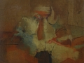 Gallo dignitoso - 1976 - 53x65 - Ezio Barni