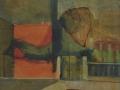 La casa rossa - 1973 - 50x60 - Ezio Barni
