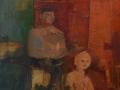 Breve racconto - 1987 - 60x70 - Ezio Barni