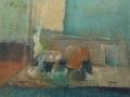 Oggetti in un interno - 1981 - 37x41 - Ezio Barni