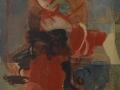 abbraccio - 1987 - 49.5x60 - Ezio Barni