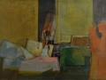 interno dello studio - 1985 - 70x100 - Ezio Barni