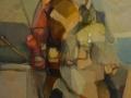 Il cavaliere - 1993 - 76x76 - Ezio Barni