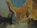 Nello studio - 1996 - 70x70 - Ezio Barni