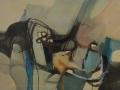 Figura sdraiata - 1994 - 80x50 - Ezio Barni