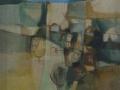 Paesaggio verticale - 1993 - 70x80 - Ezio Barni