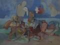 Le acque calde - 1992 - 60x50 - Ezio Barni