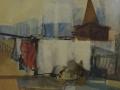 Dallo studiolo - 1994 - 59.5x50.5 - Ezio Barni