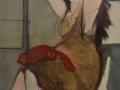 Il gatto rosso - 1994 - 60x70 - Ezio Barni