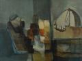 Natura morta e cupola - 1994 - 70x60 - Ezio Barni